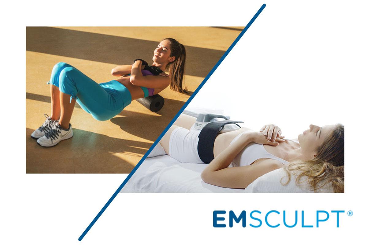 EMSCULPT Behandlung Bauch